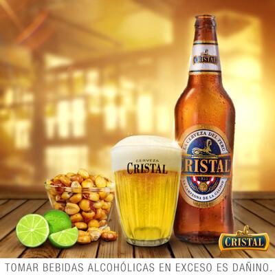 Cerveza Cristal  4,8 %  /  24 x 33 cl