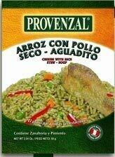 Provenzal Base Arroz con Pollo, Seco de Carne, Aguadito 12 Display x 58 gr c/u