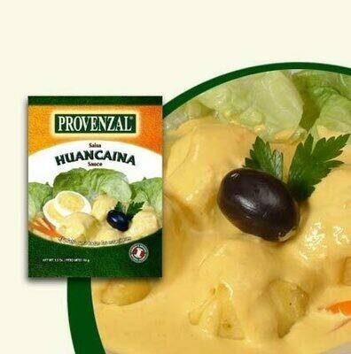 Provenzal Base de Salsa de Papa a la Huancaina (Doos x 12 Sachets de 64 gram c/u)