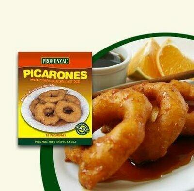 Provenzal Quinua a la Jardinera, Quinua al Culantro,  Picarones con Miel, Picarones con Quinua y Jarabe de Maiz Morado. 8 productos