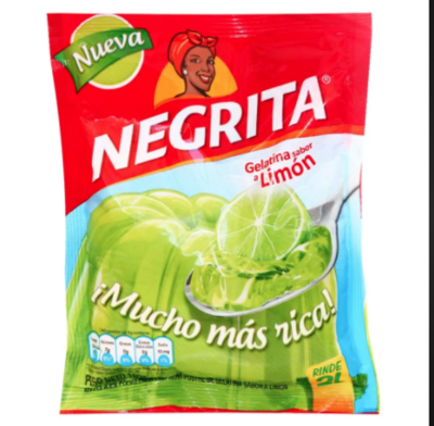 La Negrita / Gelatina de Naranja, Limon, Piña & gelatinas la negritaFlan de Vainilla,  12 productos