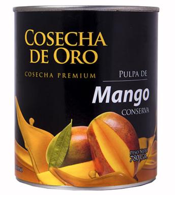 Fusion Pulpa de Mango, Pulpa de Maracuya, Jarabe de Goma y Jarabe de Granadina