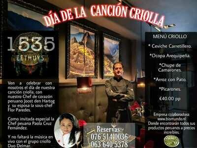 Dia de la Cancion Criolla 2020 Restaurante Fusion Peruano Asiatico Bistro Bar
