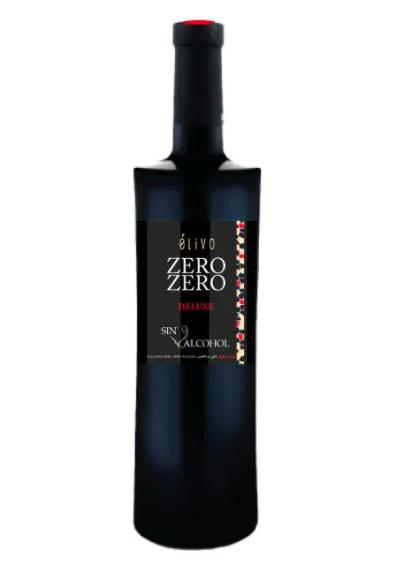 Alcoholvrij rode wijn Elivo Zero Zero Deluxe
