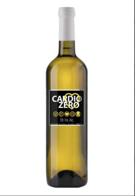 Alcoholvrij witte wijn Cardio Zero /  6 x 75 cl