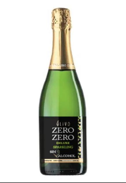 Alcoholvrij Cava Elivo Zero Zero Deluxe Espumoso  /  6 x 75 cl