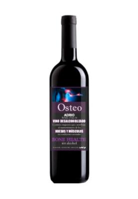 Gezondheidslijn Rode wijn OSTEO ZERO Alcoholvrij