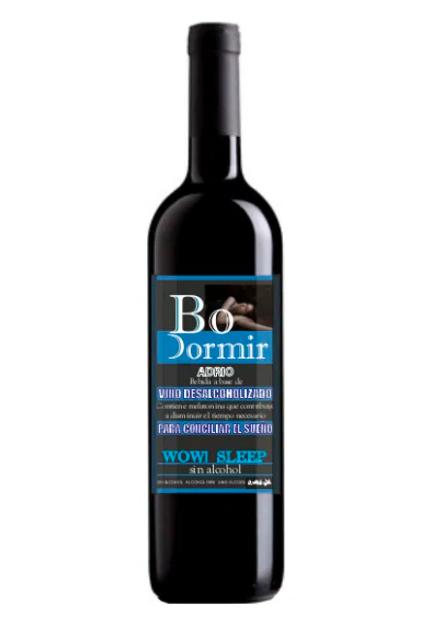 Gezondheidslijn Rode wijn DO DORMIR Alcoholvrij