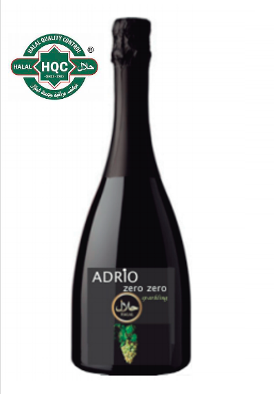 Halal Alcoholvrij Adrio Zero Zero witte cava
