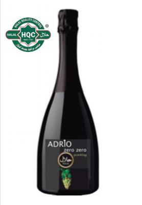 Halal Alcoholvrij Adrio Zero Zero witte cava  /  6 x 75 cl