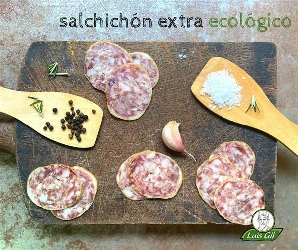Biologische Salchichon Gesneden 100 gram