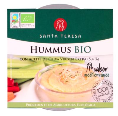 Biologische Hummus 180 Gram.