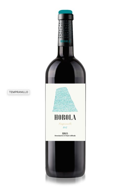 Tempranillo Rode wijn Horola  2015 / 75 cl