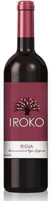 Iroko Crianza rode wijn, Tempranillo & Graciano 2015