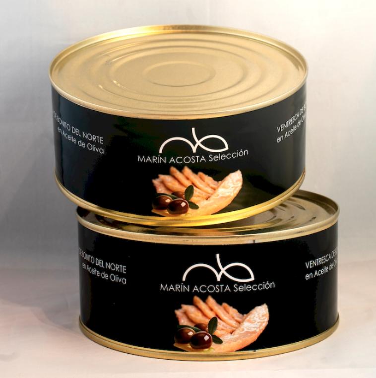 Gastronomische Ventresca van tonijn met extra viergen olijfolie 125 Gram
