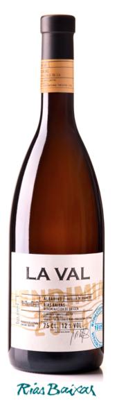 """ LA VAL VENDIMIA "" witte wijn Albariño  75 cl / 12%"