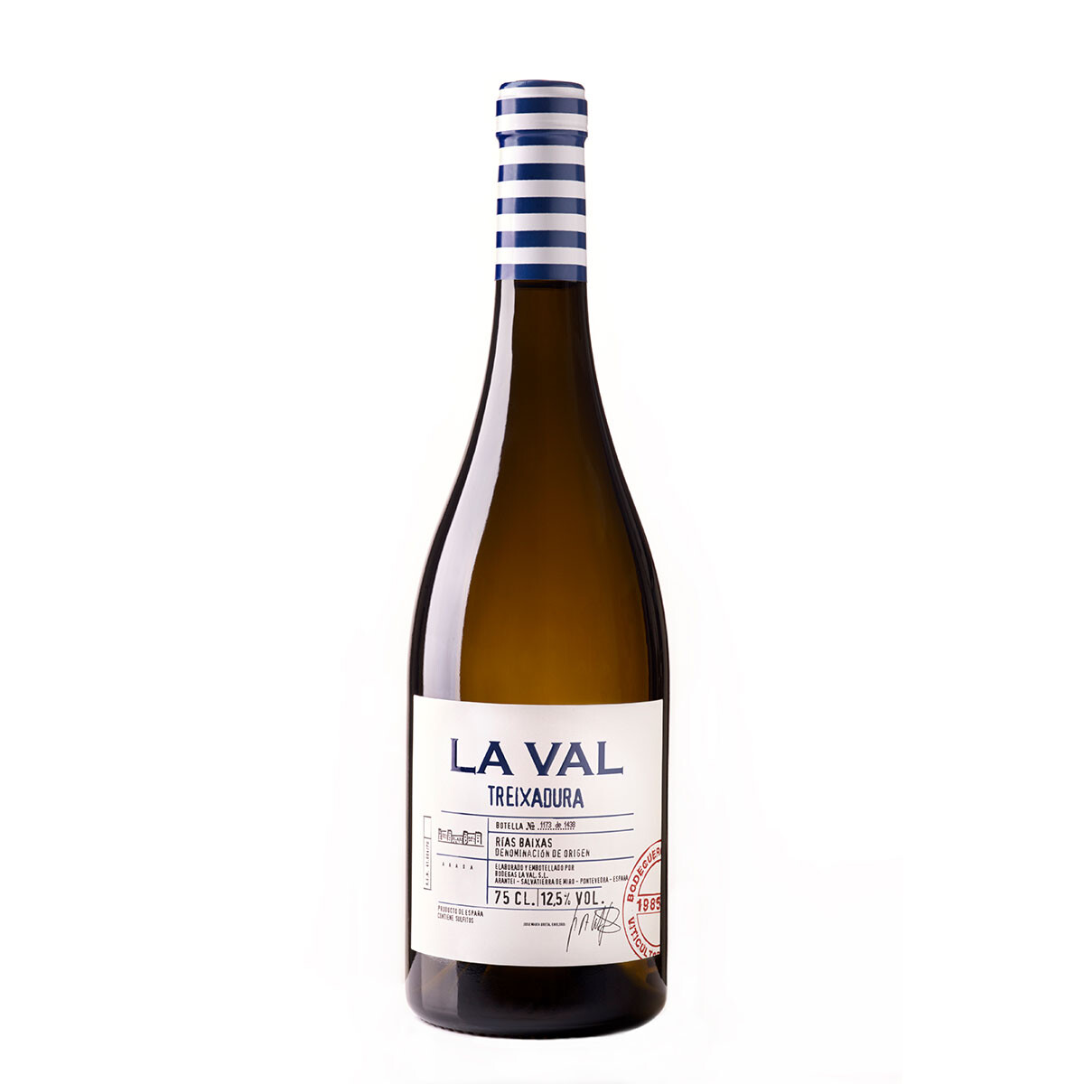 """ LA VAL Treixadura "" witte wijn Albariño  75 cl / 12,5%"