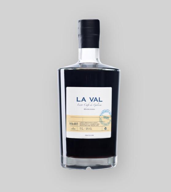 Licor de Cafe  La Val 30% / 6 x 70 cl