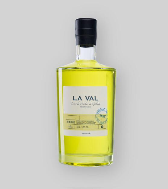 Orujo de Hierbas La Val 35%