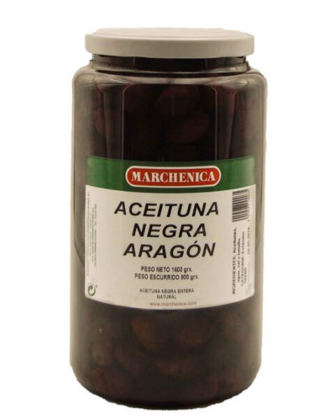 Zwarte olijven Empeltre 200 Gram
