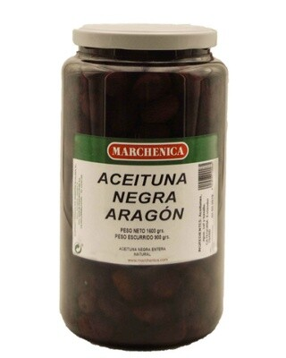 Zwarte olijven Empeltre 3 x 200 Gram