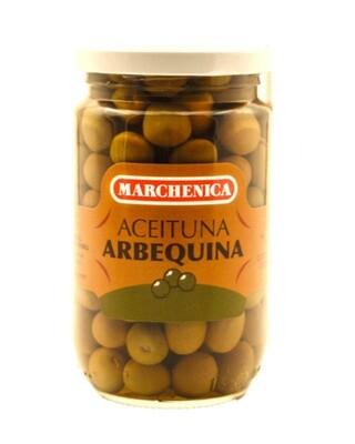 Groen olijven Arbequina 3 x 180 Gram