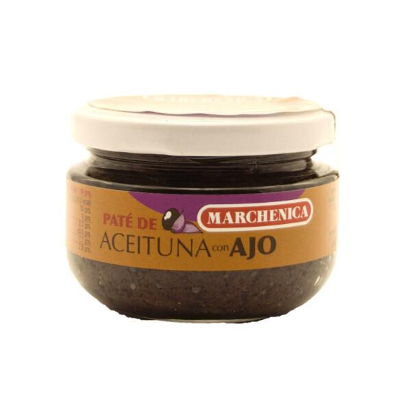 Olijven paté met Knoflook 120 Gram.