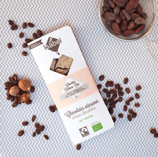 Biologische tablet van Chocolade met melk 39 % Cacao  80 Gram (Doos 10 x 80 gram)