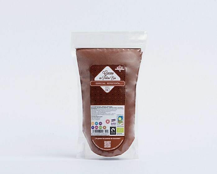Kook puur Cacao en chocolade poeder,  (Doos 6 x 300 gram )