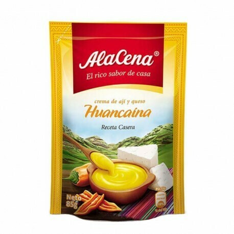 Crema de papa a la Huancaina (Doos x 12 Sachets de 400 Gram c/u)