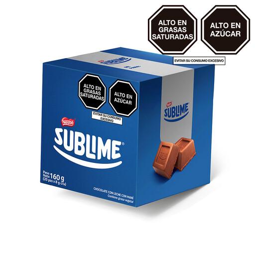 Bombones Sublime (Doos x 20 unidades de 8 Gram c/u)