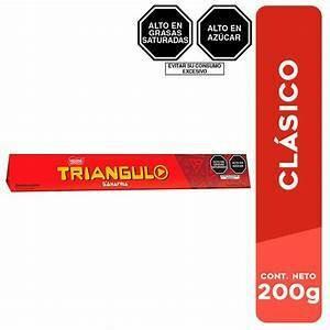 Chocolate Triangulo largo (Doos x 22 unidades de 32 Gram c/u)