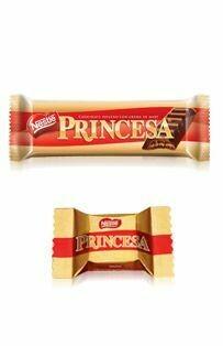 Chocolate princesa largo (Doos x 20 unidades de30 Gram c/u)