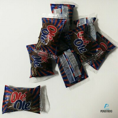 Marshmallow OLE OLE Vainilla (Doos x 15 Bolsas  y cada bolsa 60 unidades.