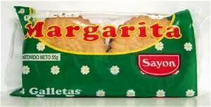 Galletas Margarita  (Doos x 6 paquetes de 53 Gram c/u)
