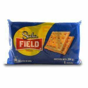 Galletas Choco Soda Field (Doos x 6 paquetes de 36 Gram c/u)