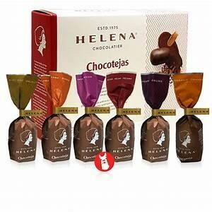 Chocotejas Helena de Pecanas (Doos x 9 unidades , c/u de 26 Gram)