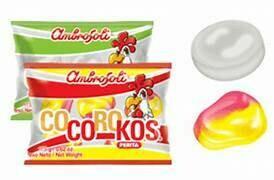 Caramelos Cocoroko de Perrita (Doos x 5 bolsas, bolsa de 100 Caramelos cada bolsa)