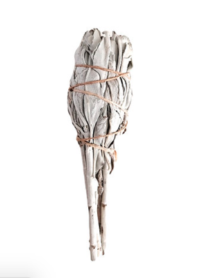 Witte Salie Smudge Stick 10 cm