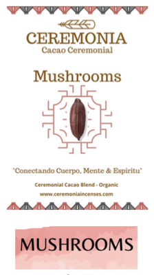 Ceremoniële Mushrooms Cacao