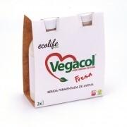 Yoghurt Vegacol Aardbei Pack 2 x 100 ml
