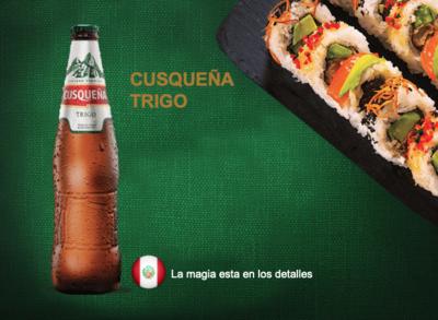 Cerveza Cusqueña Trigo 4,9 %  /  24 x 33 cl