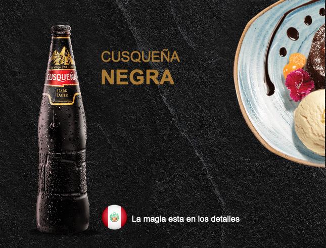 Cerveza Cusqueña Dark 5,6 %  /  24 x 33 cl