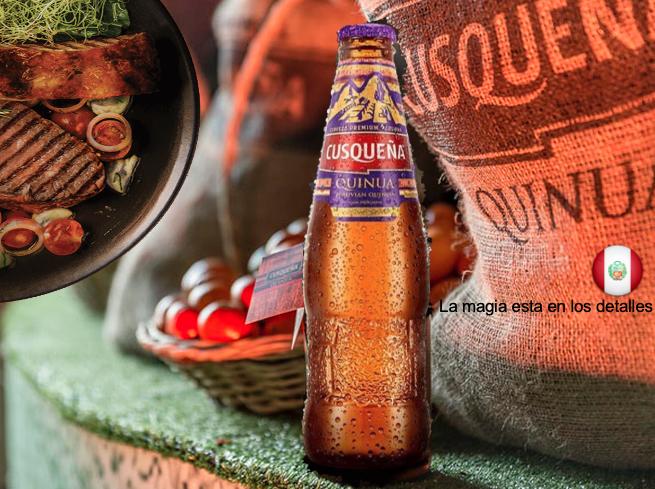 Cerveza Cusqueña Quinua 6,5 %  /  24 x 33 cl