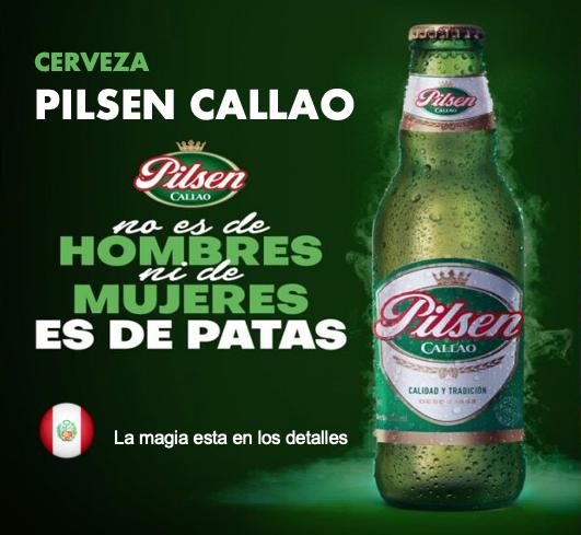 Cerveza Pilsen Callao  4,8 %  /  24 x 330 cl