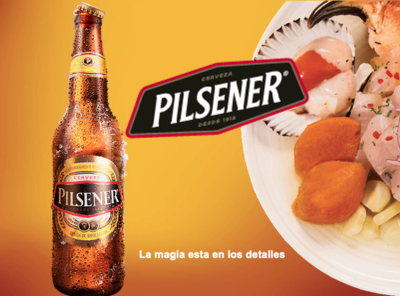 Cerveza Pilsener  4 %  /  24 x 33 cl
