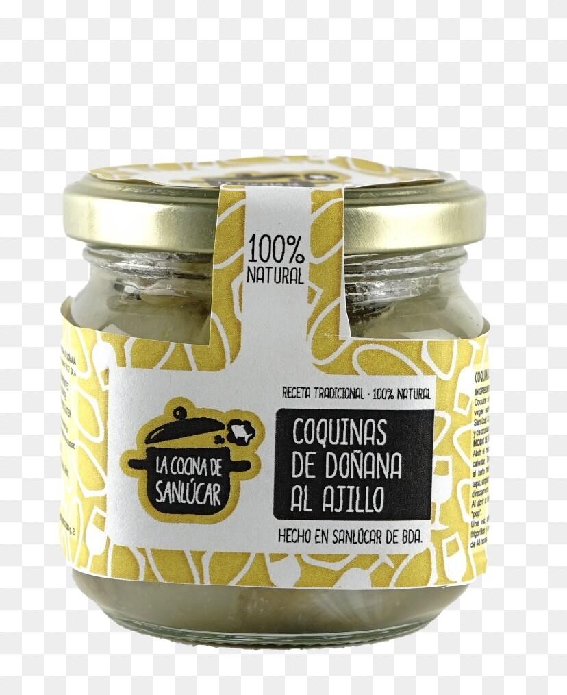 Gastronomische Coquiñas met knoflook  6 x 375 Gram