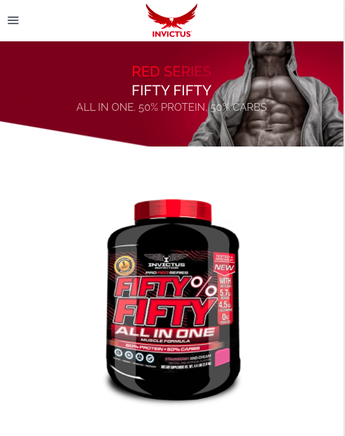 Pro Red Series Fifty % Fifty All in One 2 Kg