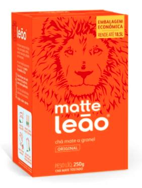 Mate Leao  Doos 100 Zakjes de 100 Gram c/u