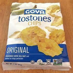 Tostones Ajo  Goya   Doos 24 x 50 Gram